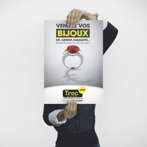 Affiche Troc.com