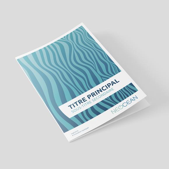 Brochure / charte graphique Néocean