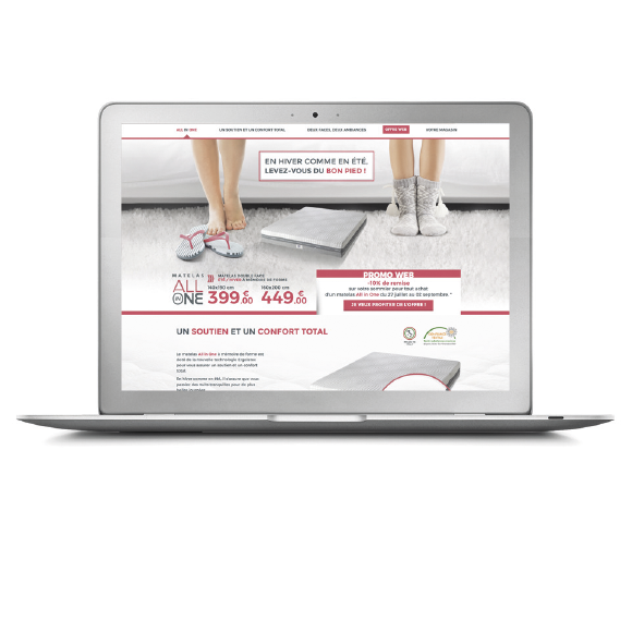 Landing page ALL in ONE