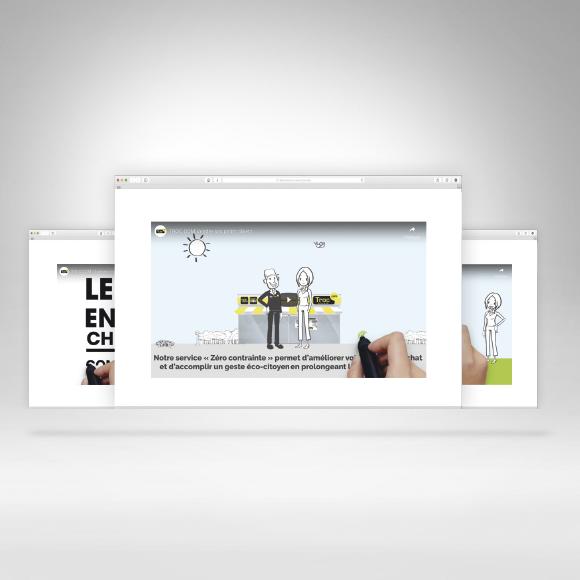 Motion design Troc.com