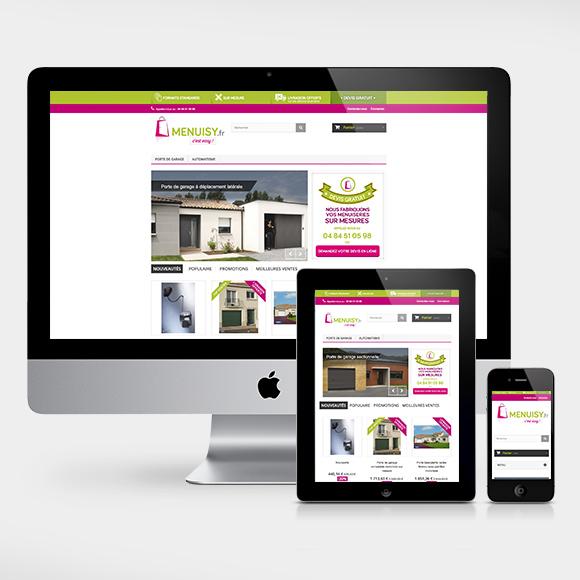 Site e-commerce Menuisy.fr